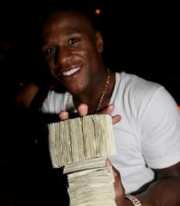 Athlete Floyd Mayweather Millions