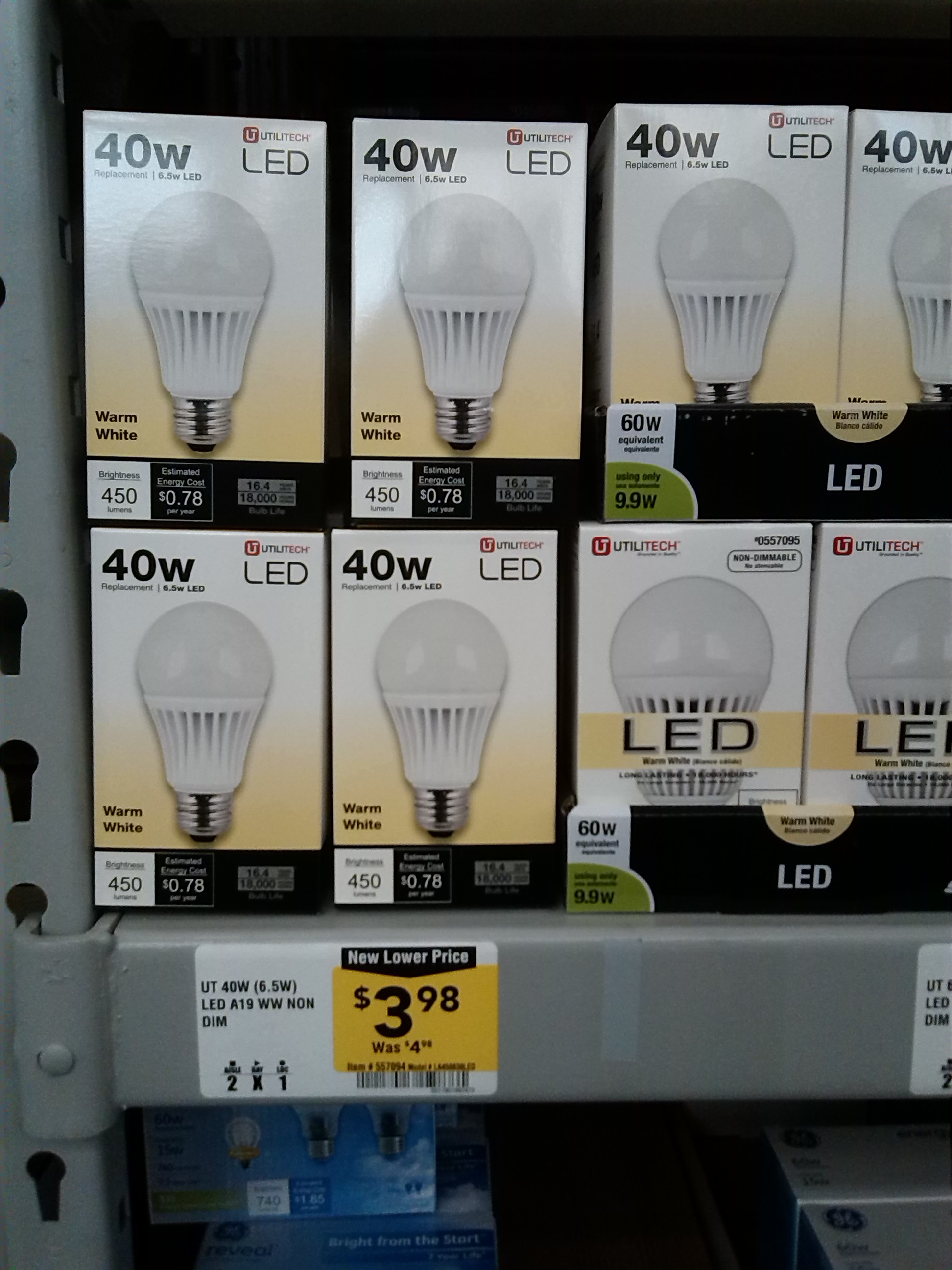 More Inexpensive LED Bulbs -Action Economics