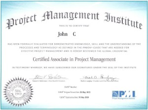 CAPM Exam Certification 2