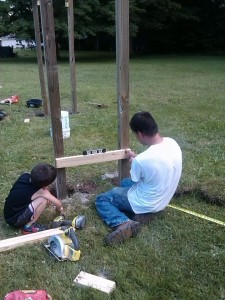Building Monkey Bars