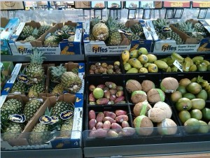 Fresh Fruit...from all corners of the globe...in the middle of winter!