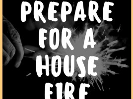how to prepare for a house fire 1