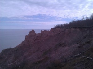 Ginna Chimney Bluffs