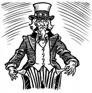 Federal Government Broke Uncle Sam