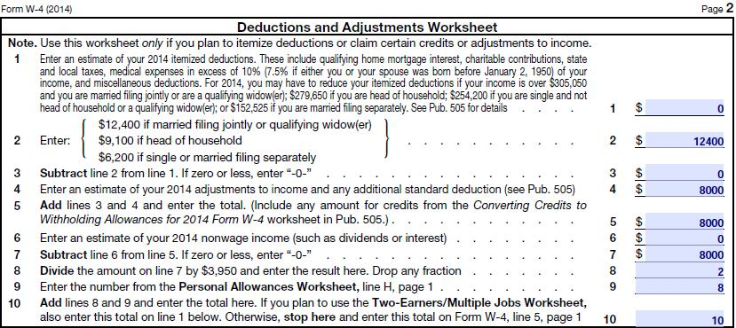 Claim Exempt on Federal Income Taxes W4 Form