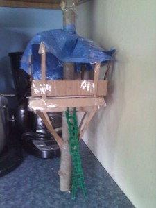 Build a cheap tree house Tree House Model