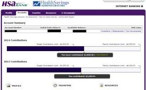 Health Savings Administrators Log On 2
