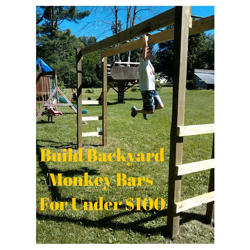How To Build Monkey Bars My 100 Backyard Design Action Economics