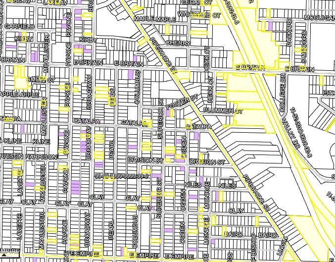 Benton Harbor City Side Lots