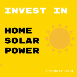 investing in home solar power