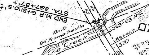 Pretty Clear where the boundary is...Also shows mile post 7 as existing right where I found it at.