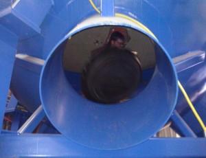 Installing Nozzle Dam 1