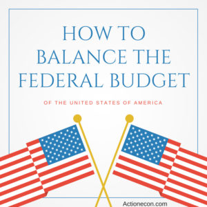 how to balance the federal budget