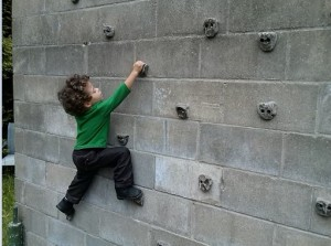 rock climbing wall 5