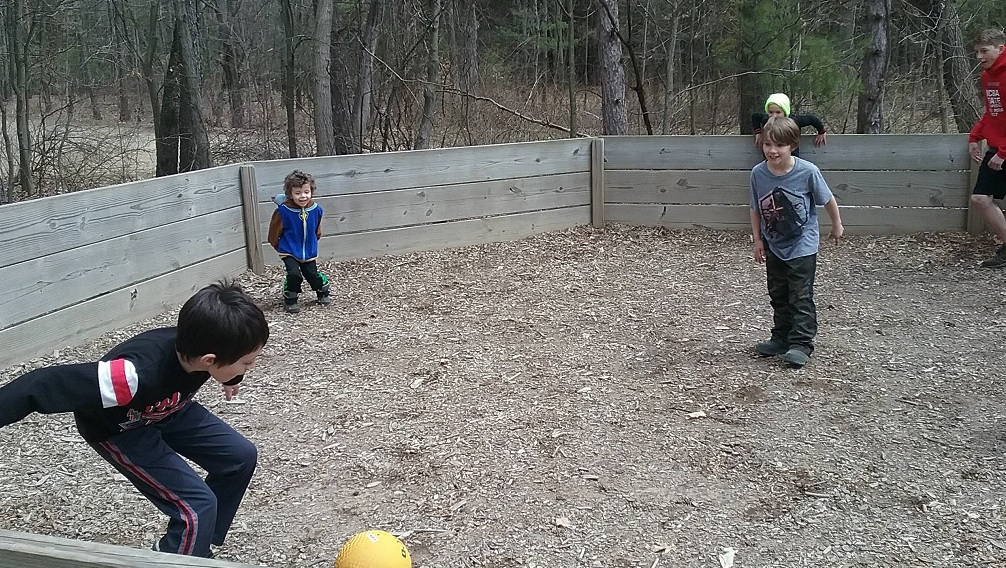 How to build a gaga ball pit