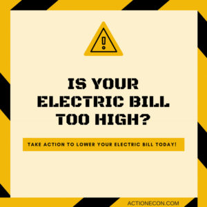 is your electric bill too high